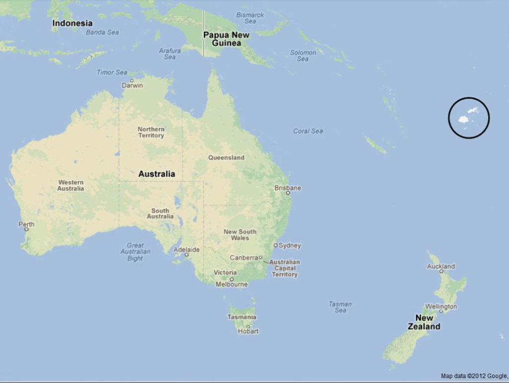 Australia To Fiji